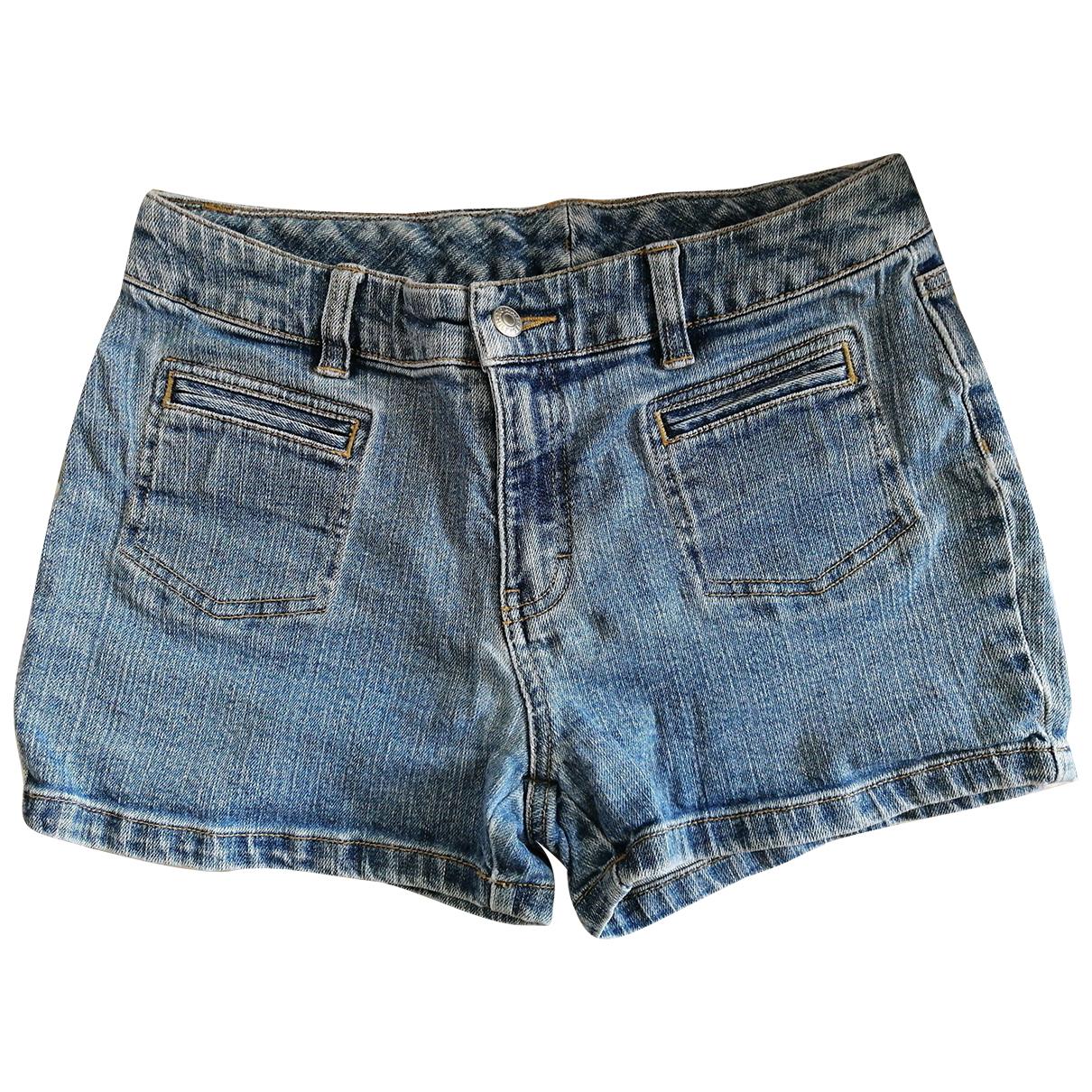 Tommy Hilfiger \N Blue Denim - Jeans Shorts for Women 14 UK