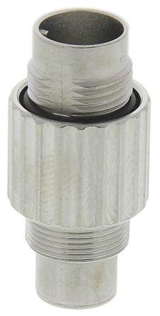 TE Connectivity Connector, 3 contacts Cable Mount Subminiature Plug, Crimp