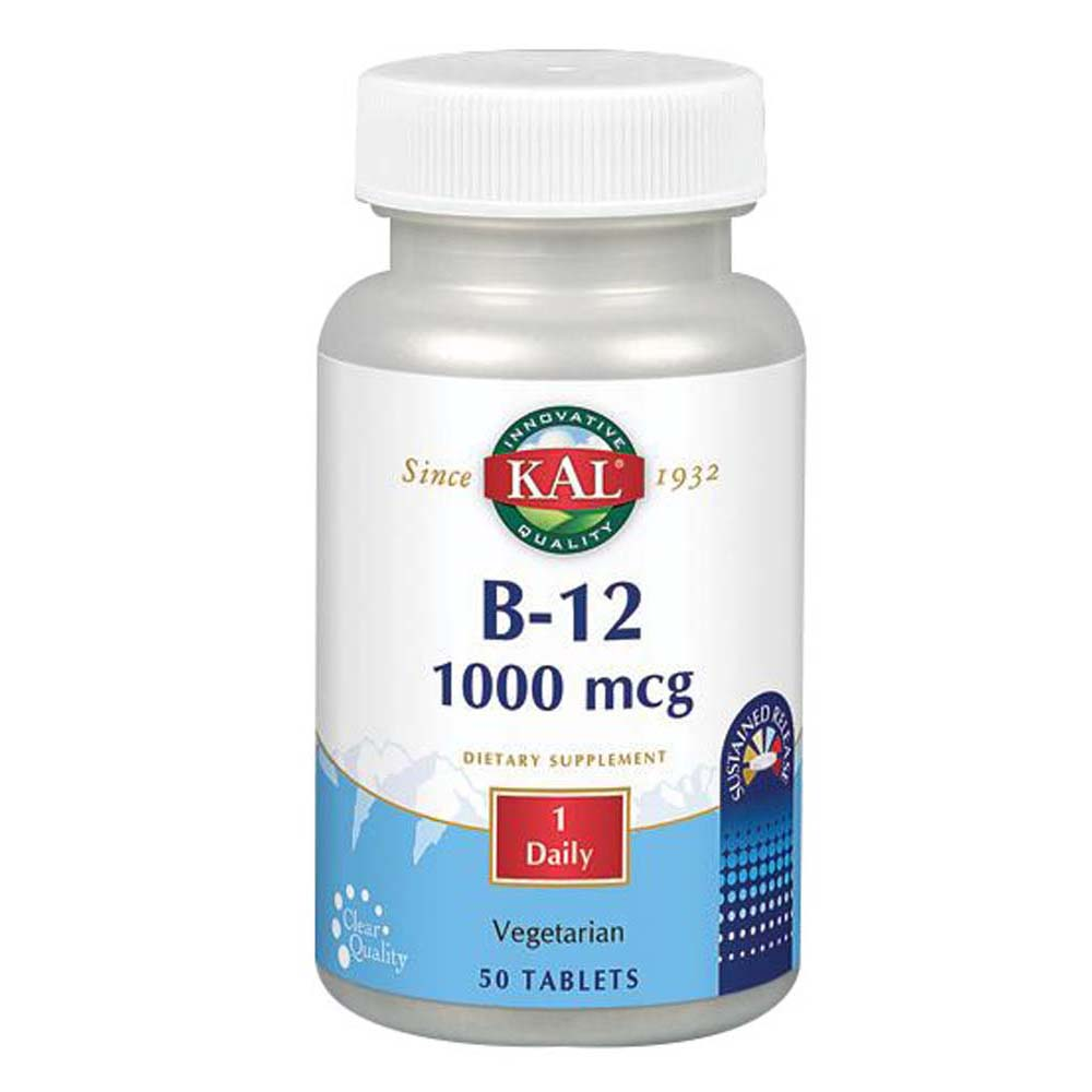 B-12 Sustained Release 100 Tabs by Kal