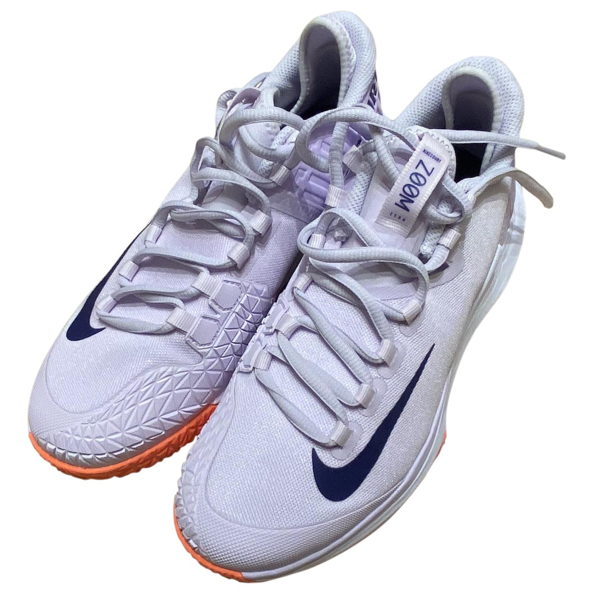 Nike - Baskets   pour femme en toile - violet