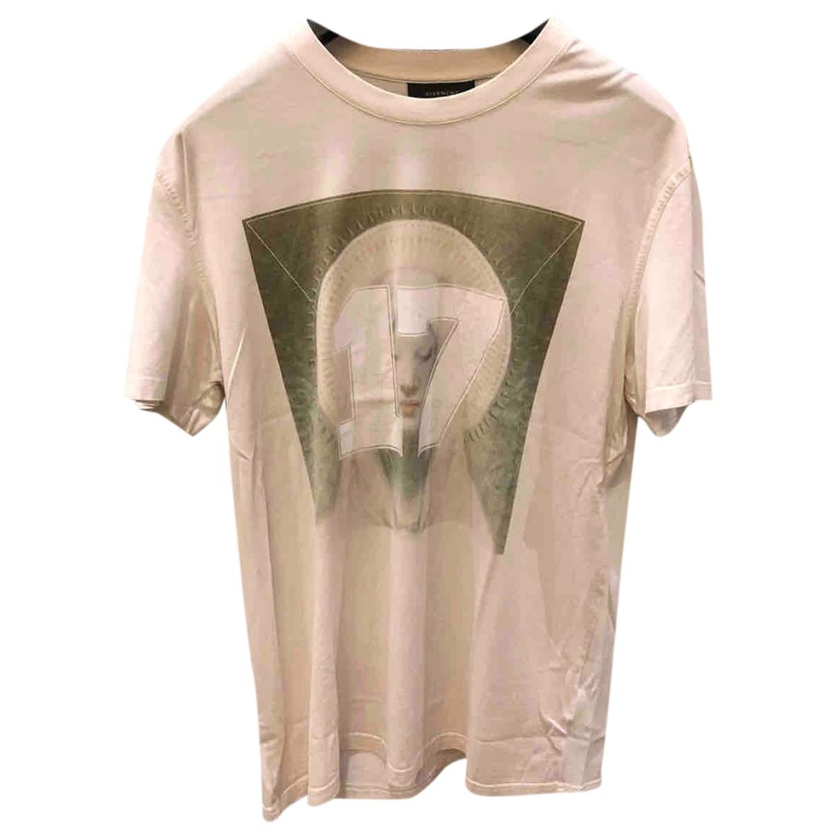 Givenchy \N White Cotton T-shirts for Men XXL International