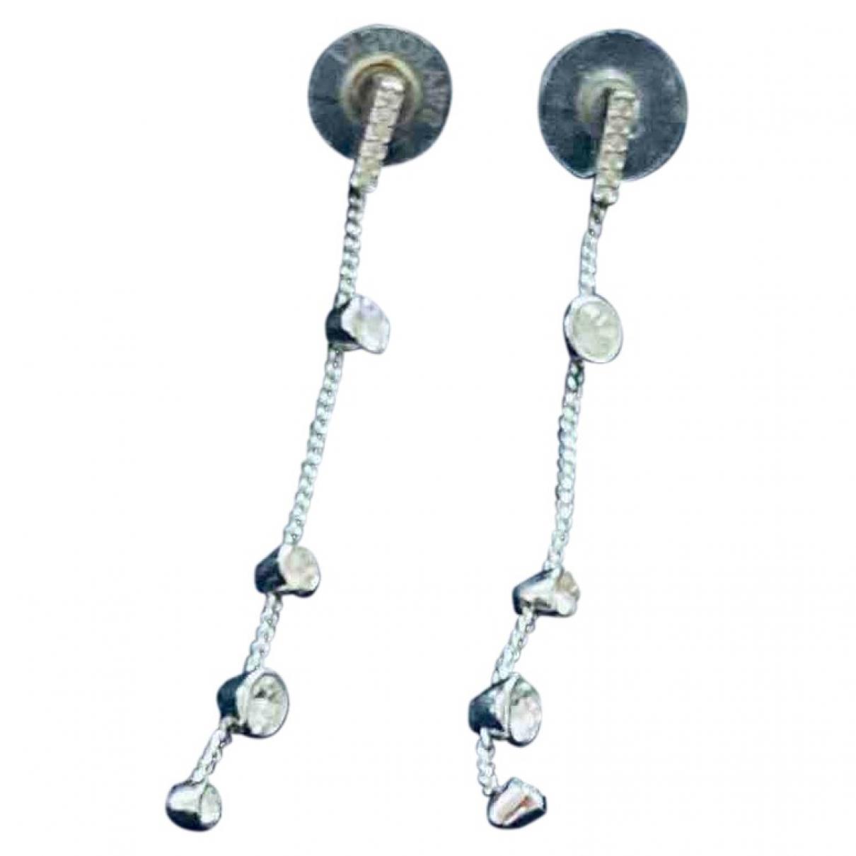 Swarovski \N Anhaenger in  Silber Metall
