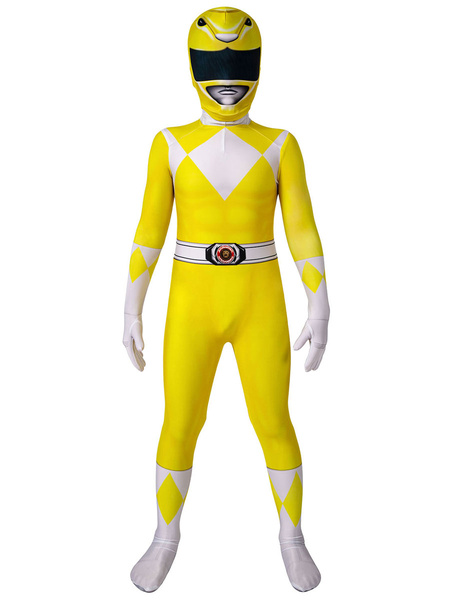 Milanoo Kyoryu Sentai Zyuranger Boy Cosplay Costume Kid Tights