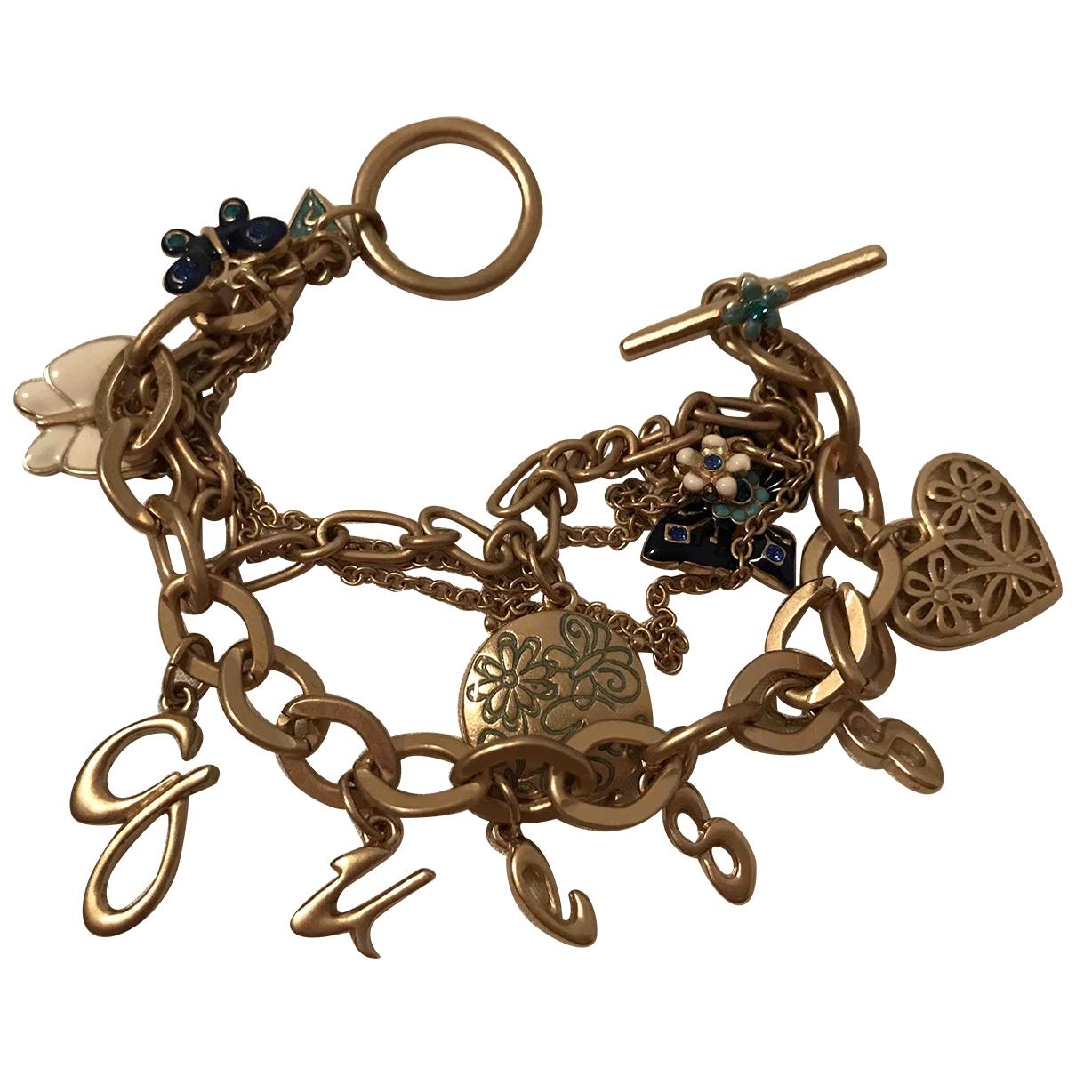 Guess - Bracelet   pour femme en acier - dore
