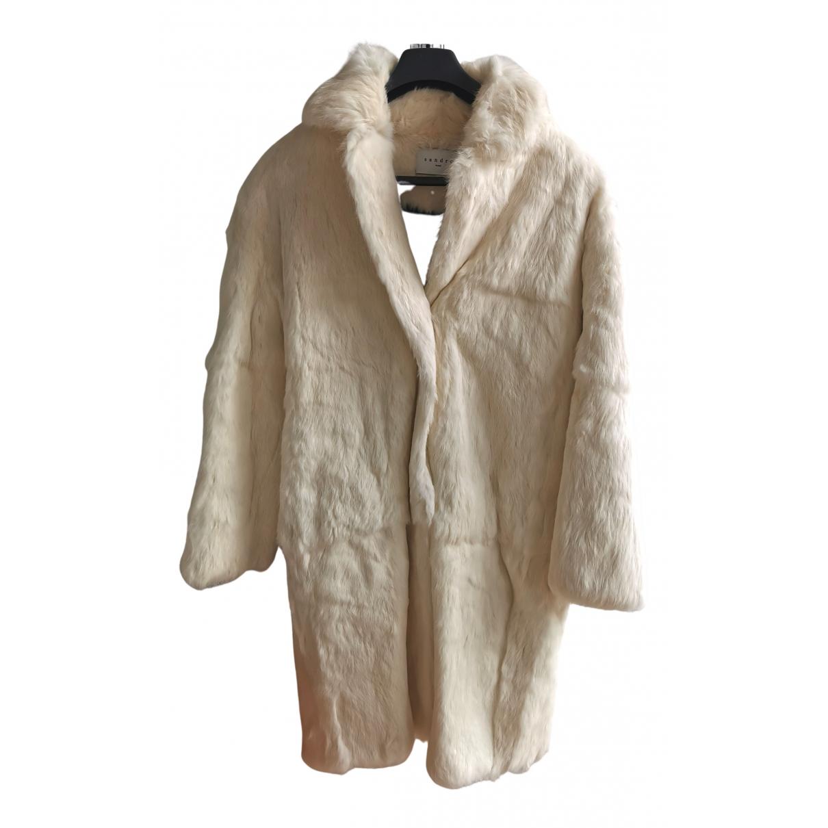 Sandro \N Rabbit coat for Women 1 0-5