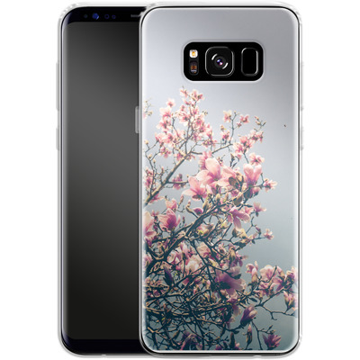 Samsung Galaxy S8 Silikon Handyhuelle - She Bloomed Everywhere She Went von Joy StClaire