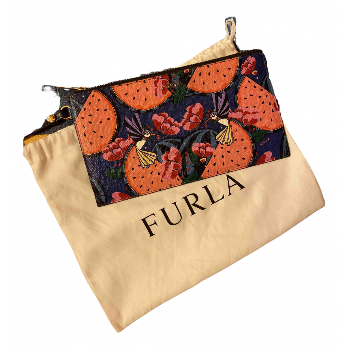 Furla \N Multicolour Leather Clutch bag for Women \N
