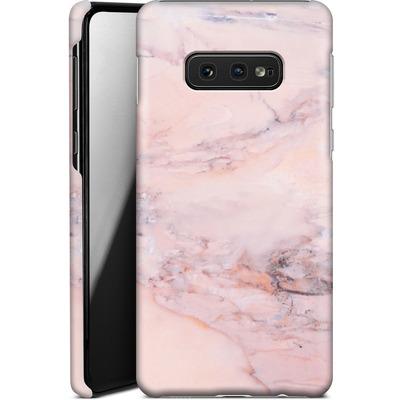 Samsung Galaxy S10e Smartphone Huelle - Blush Marble von Emanuela Carratoni