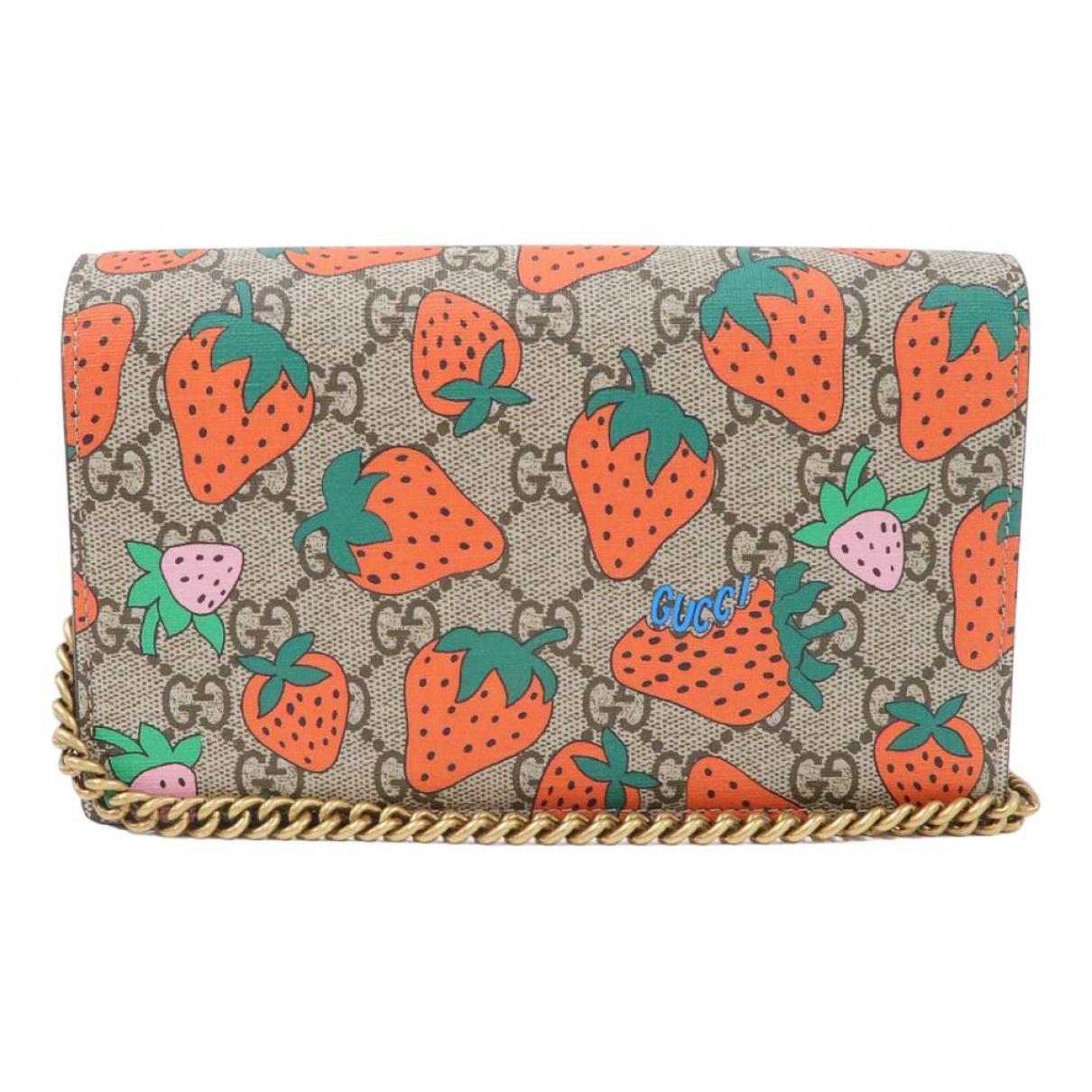Gucci N Multicolour Cloth Clutch bag for Women N