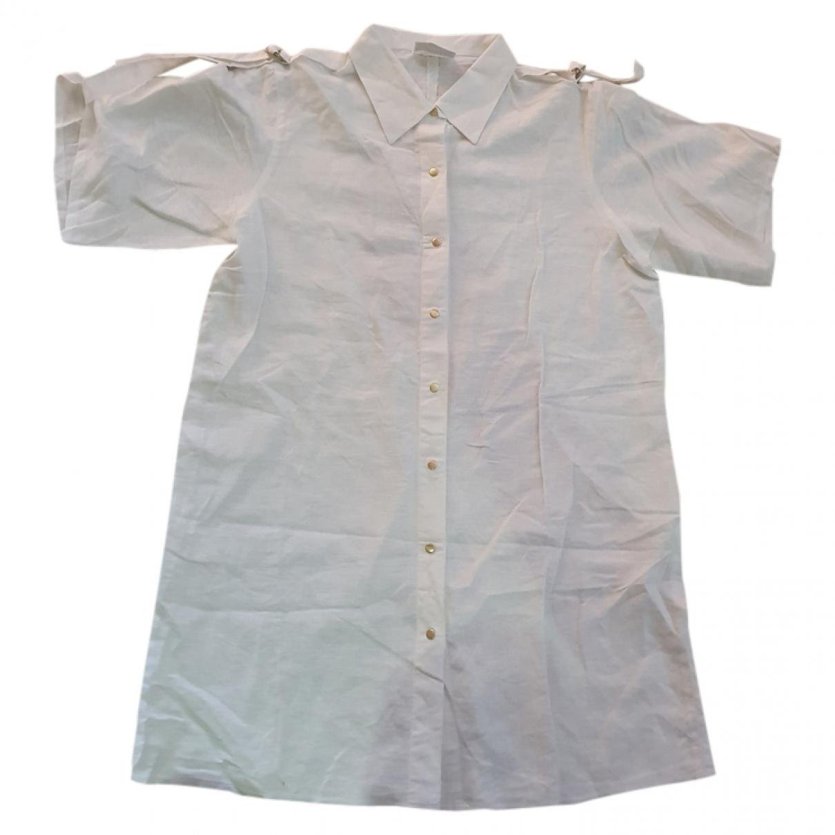 La Perla - Top   pour femme en lin - blanc