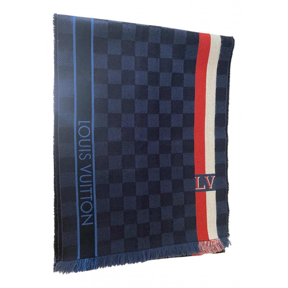 Louis Vuitton - Cheches.Echarpes   pour homme en laine - bleu