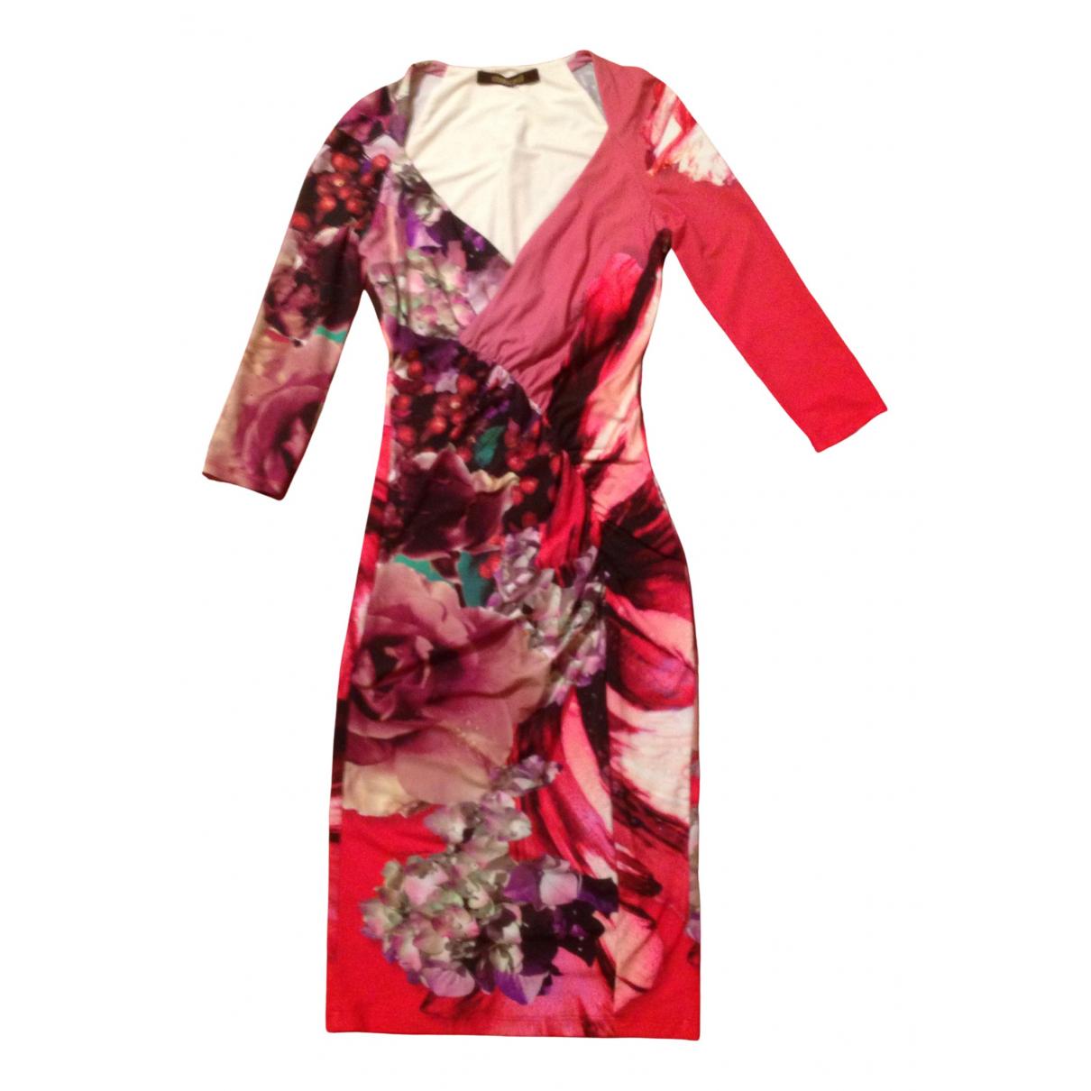 Roberto Cavalli \N Kleid in  Rosa Synthetik
