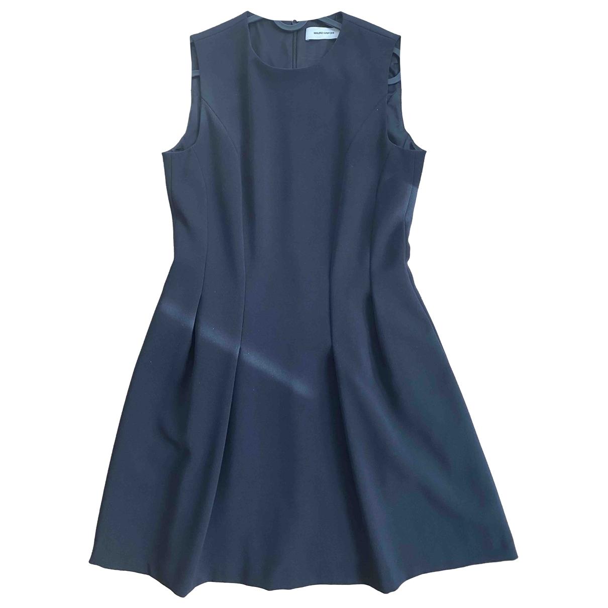 Mauro Grifoni \N Kleid in  Schwarz Polyester