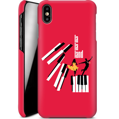Apple iPhone XS Max Smartphone Huelle - Red Piano von La La Land