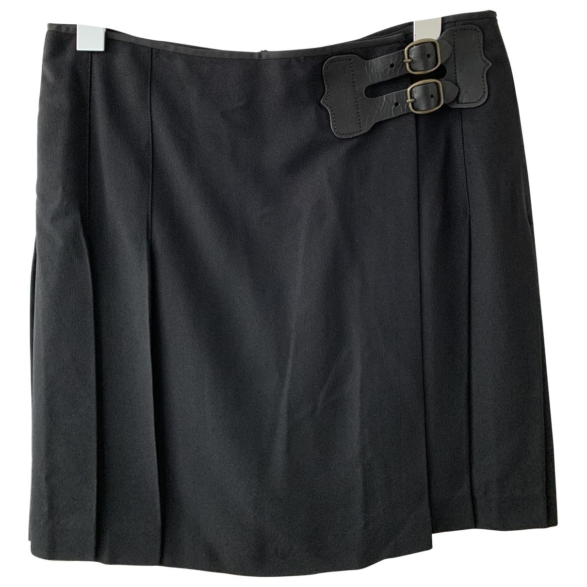 Polo Ralph Lauren - Jupe   pour femme en soie - marine