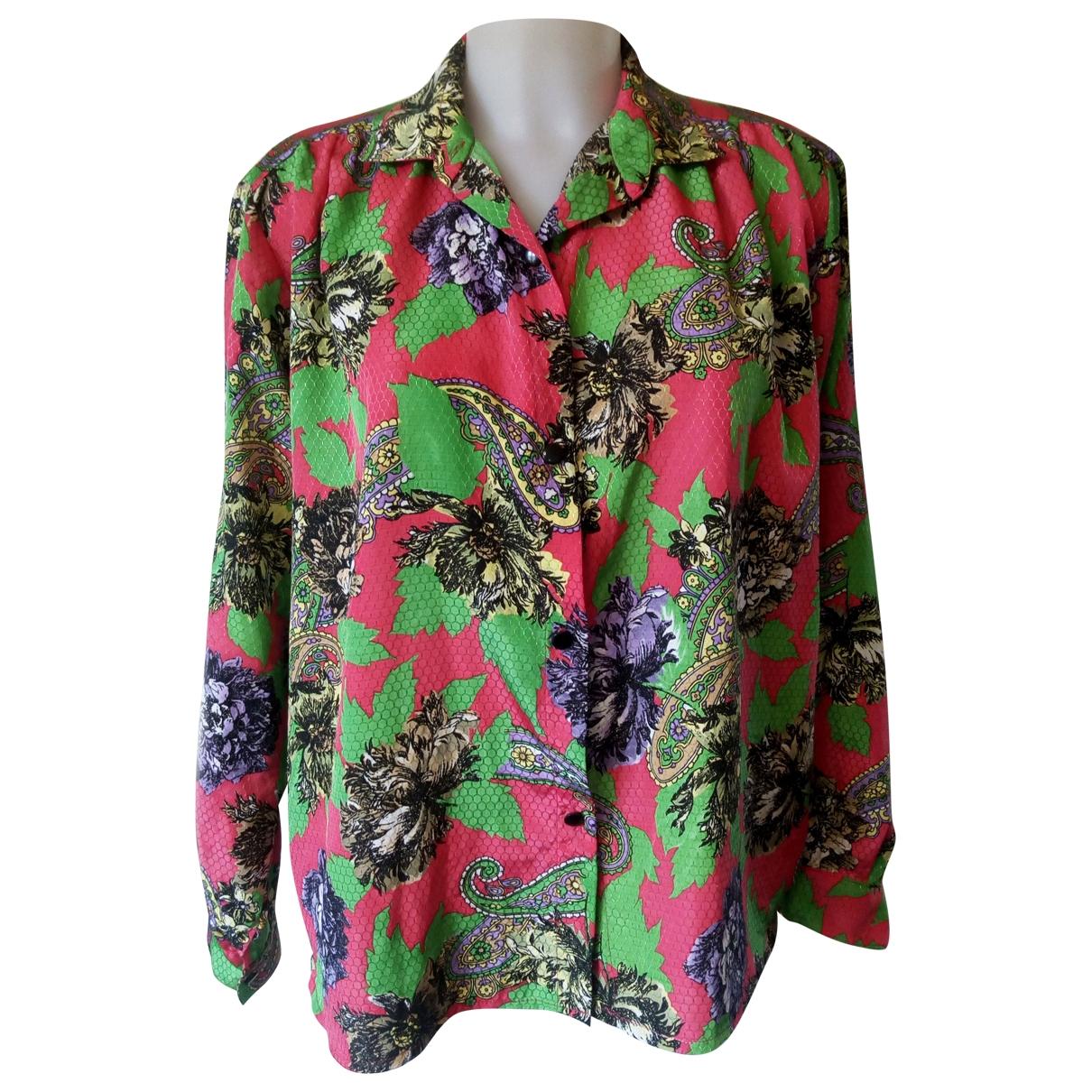 Camisa Oversize de Seda Non Signe / Unsigned