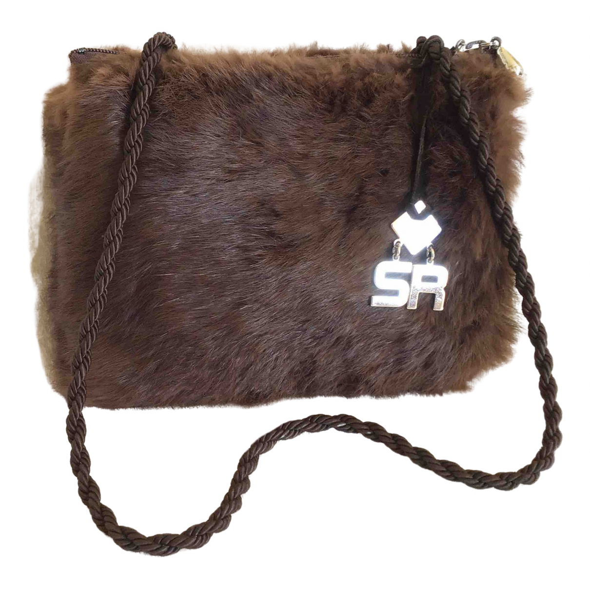 Sonia Rykiel \N Brown Rabbit handbag for Women \N