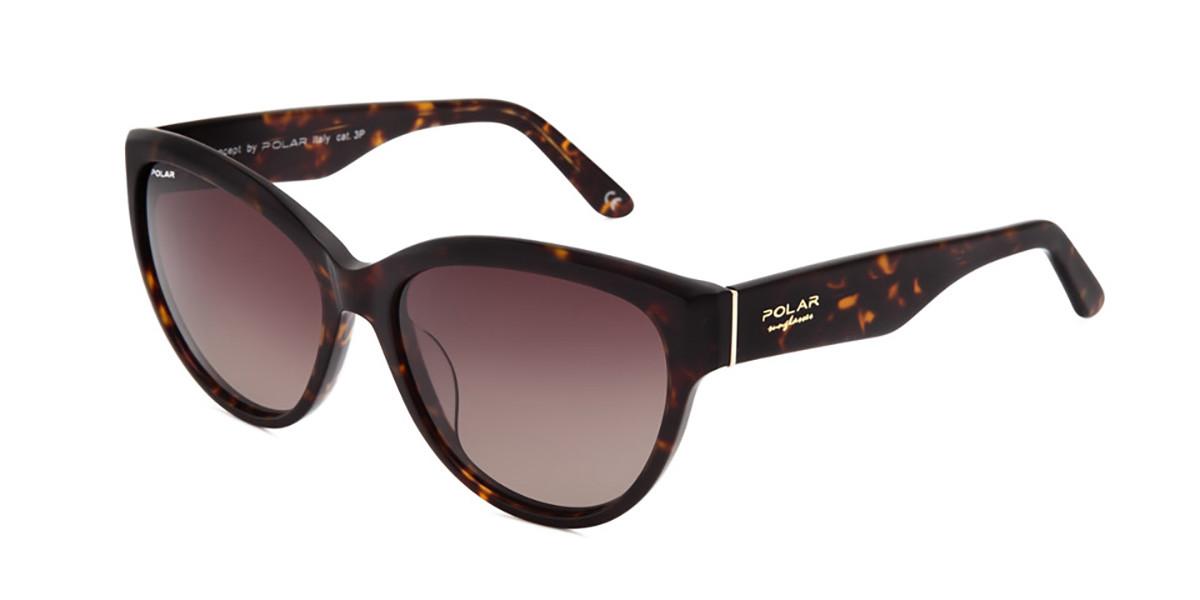Polar PL Cindy Polarized 428 Men's Sunglasses Tortoise Size 57