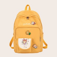 Cartoon Graphic Large Capacity Backpack