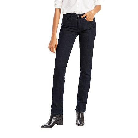 Levi's Classic Straight Jean, 6 Long , Blue
