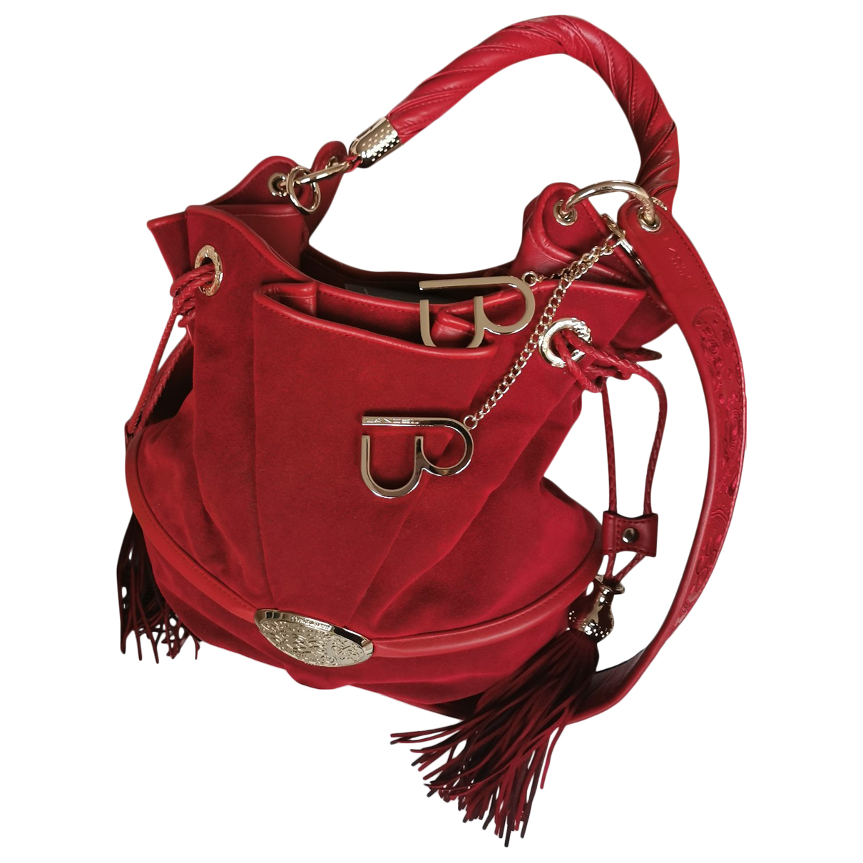 Lancel Brigitte Bardot Red Leather handbag for Women \N