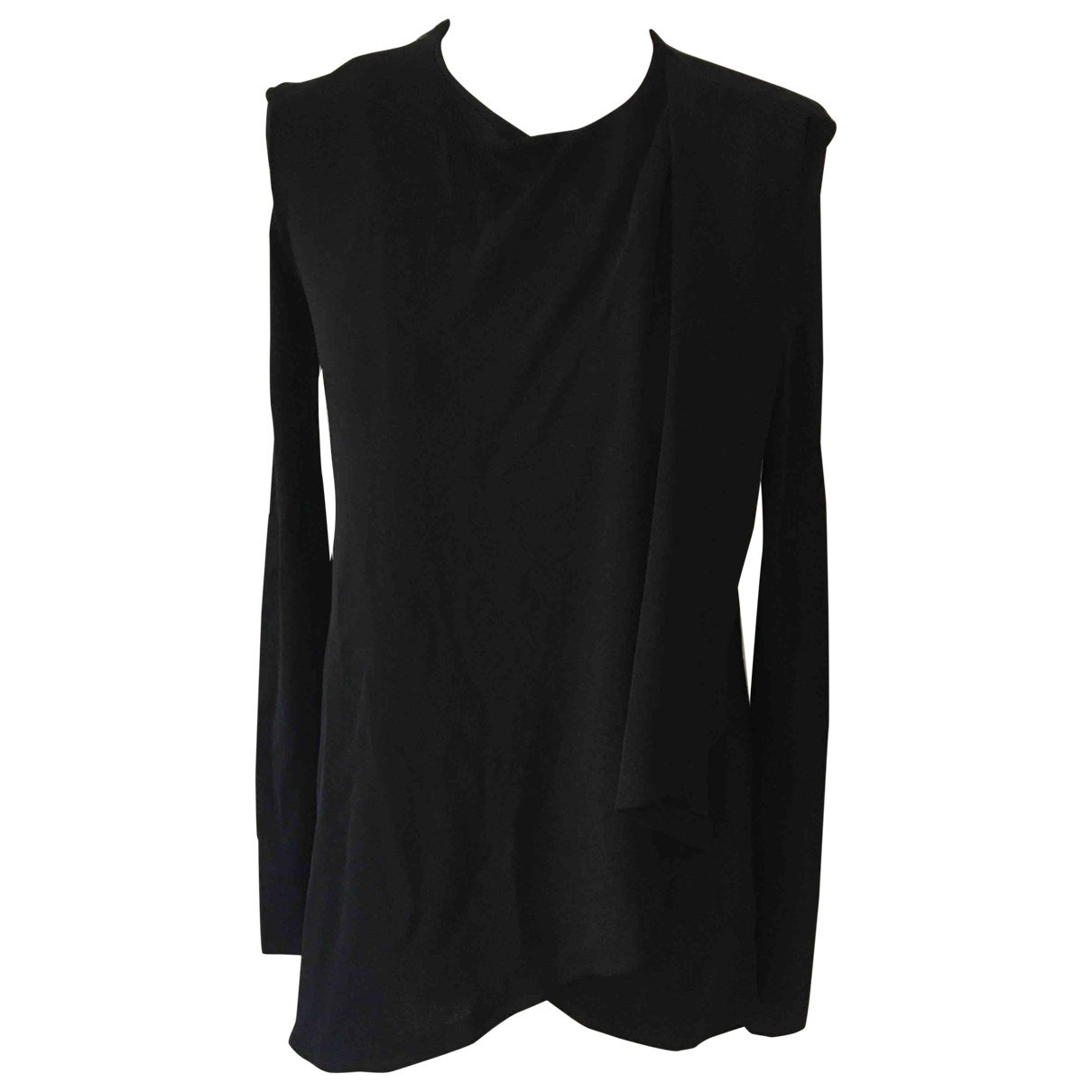 Givenchy \N Top in  Schwarz Viskose