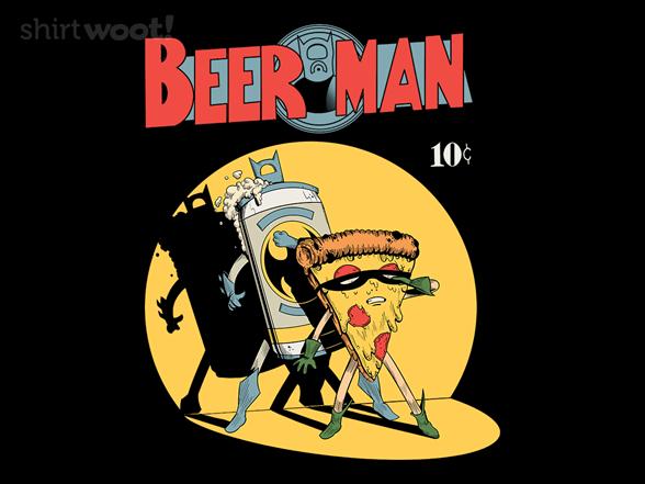 Beer Man T Shirt