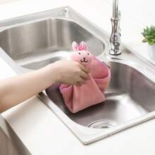 Rabbit Shaped Cleaning Rag