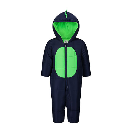 Carter's Baby Boys Heavyweight Animal Snow Suit, 6-9 Months , Blue