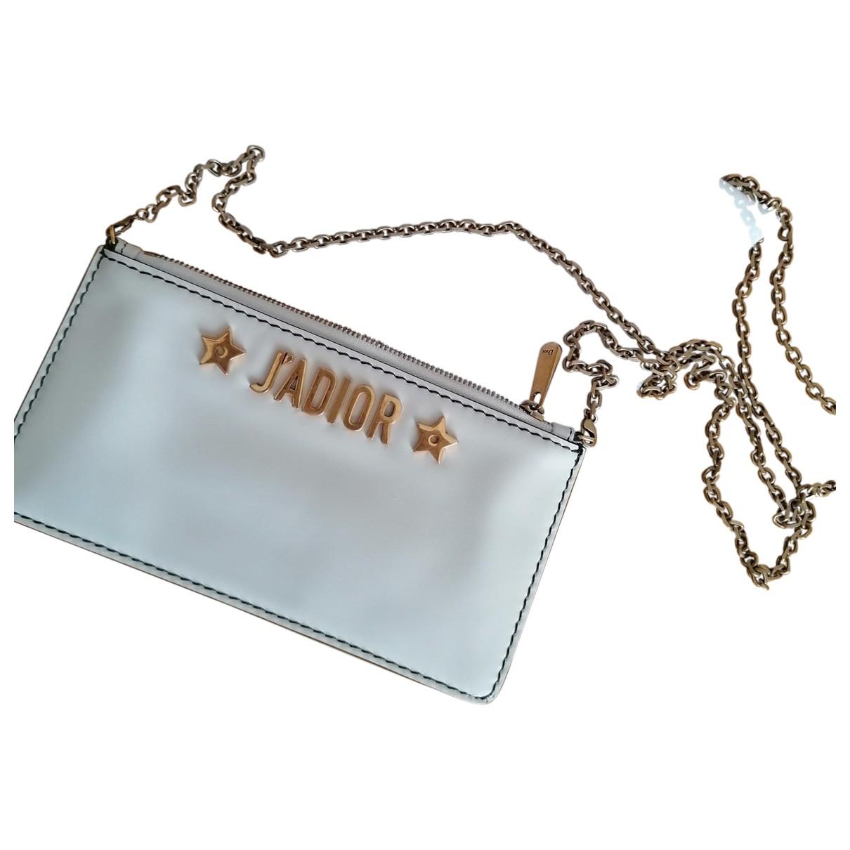 Dior J'adior Ecru Leather handbag for Women N