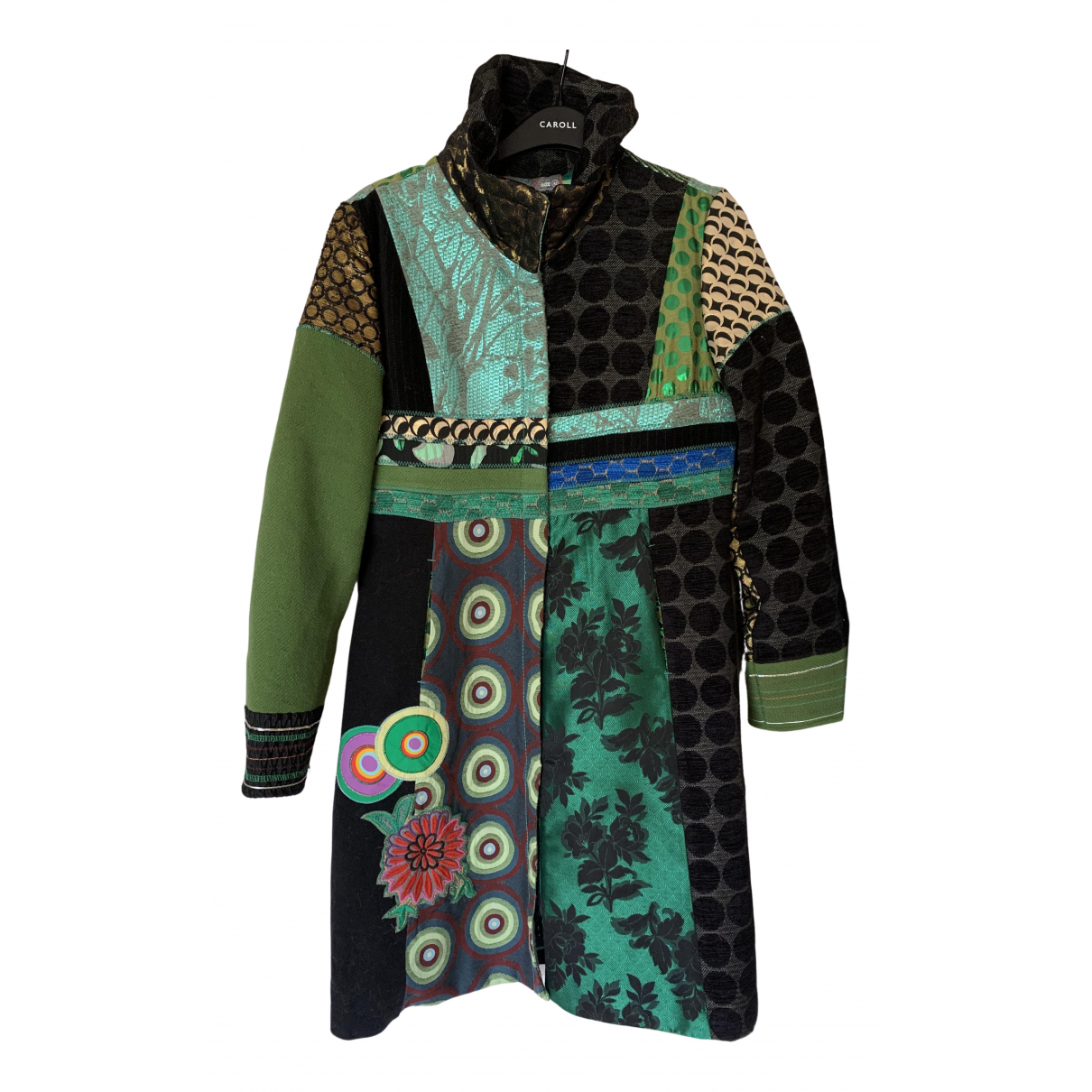 Desigual - Manteau   pour femme - vert