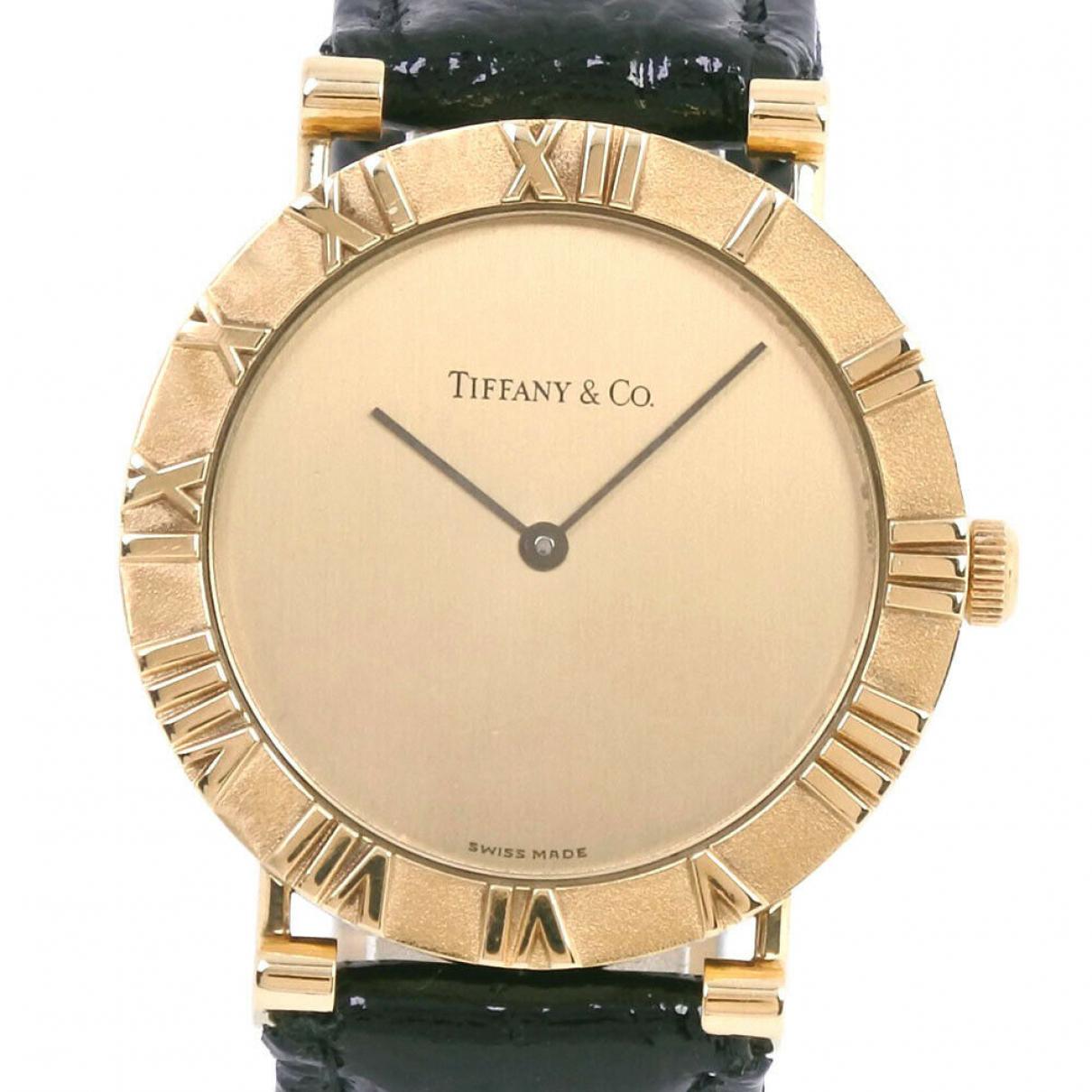 Tiffany & Co \N Uhr in Gelbgold