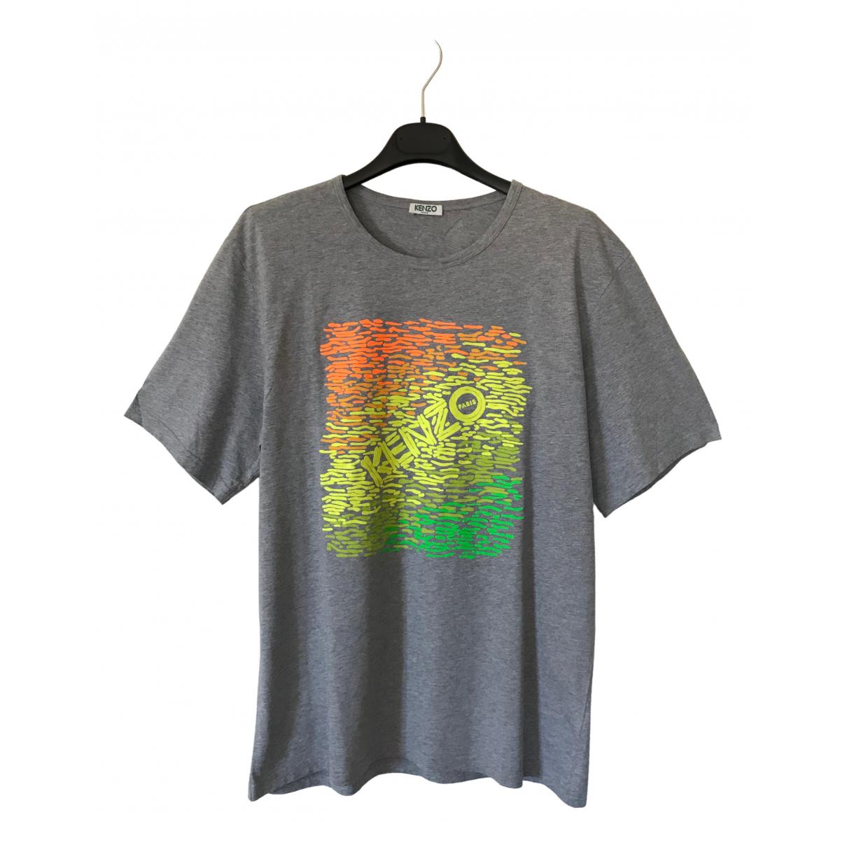 Kenzo \N Grey Cotton T-shirts for Men L International