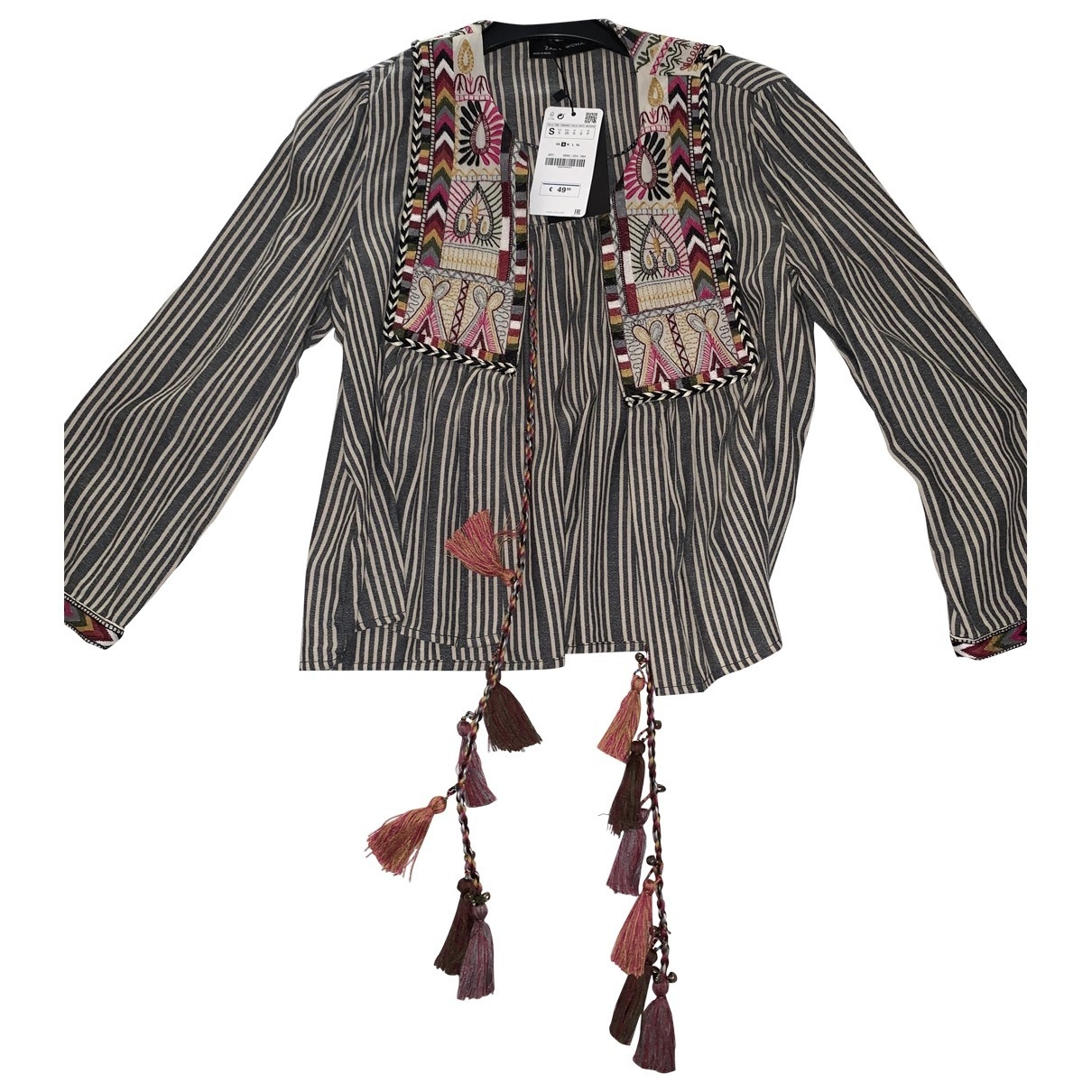 Zara \N Anthracite jacket for Women S International