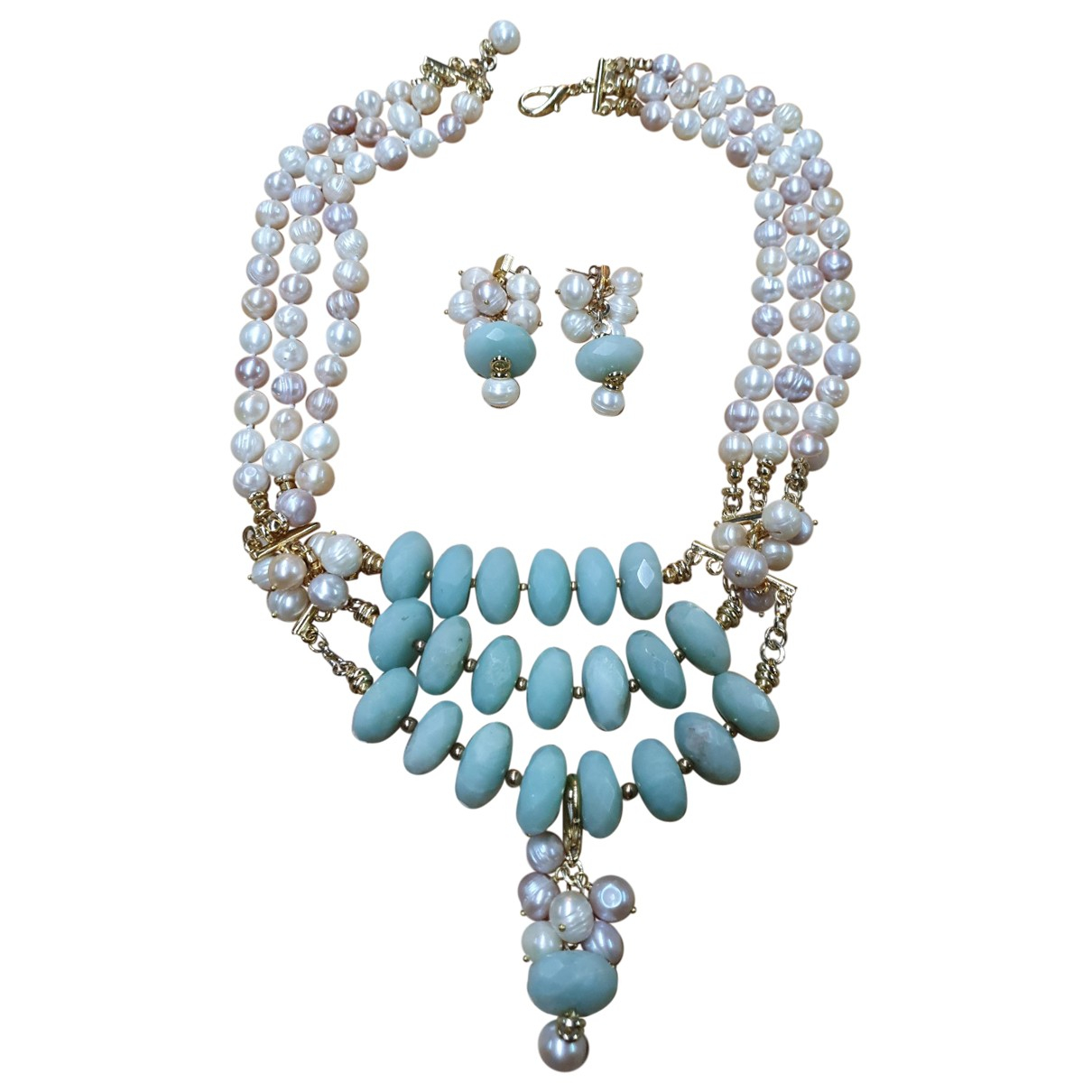 Non Signé / Unsigned Nacre Pearls necklace for Women N