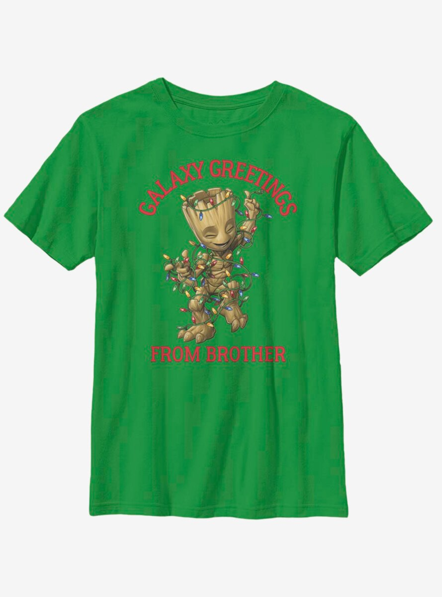Marvel Guardians Of The Galaxy Groot Brother Youth T-Shirt