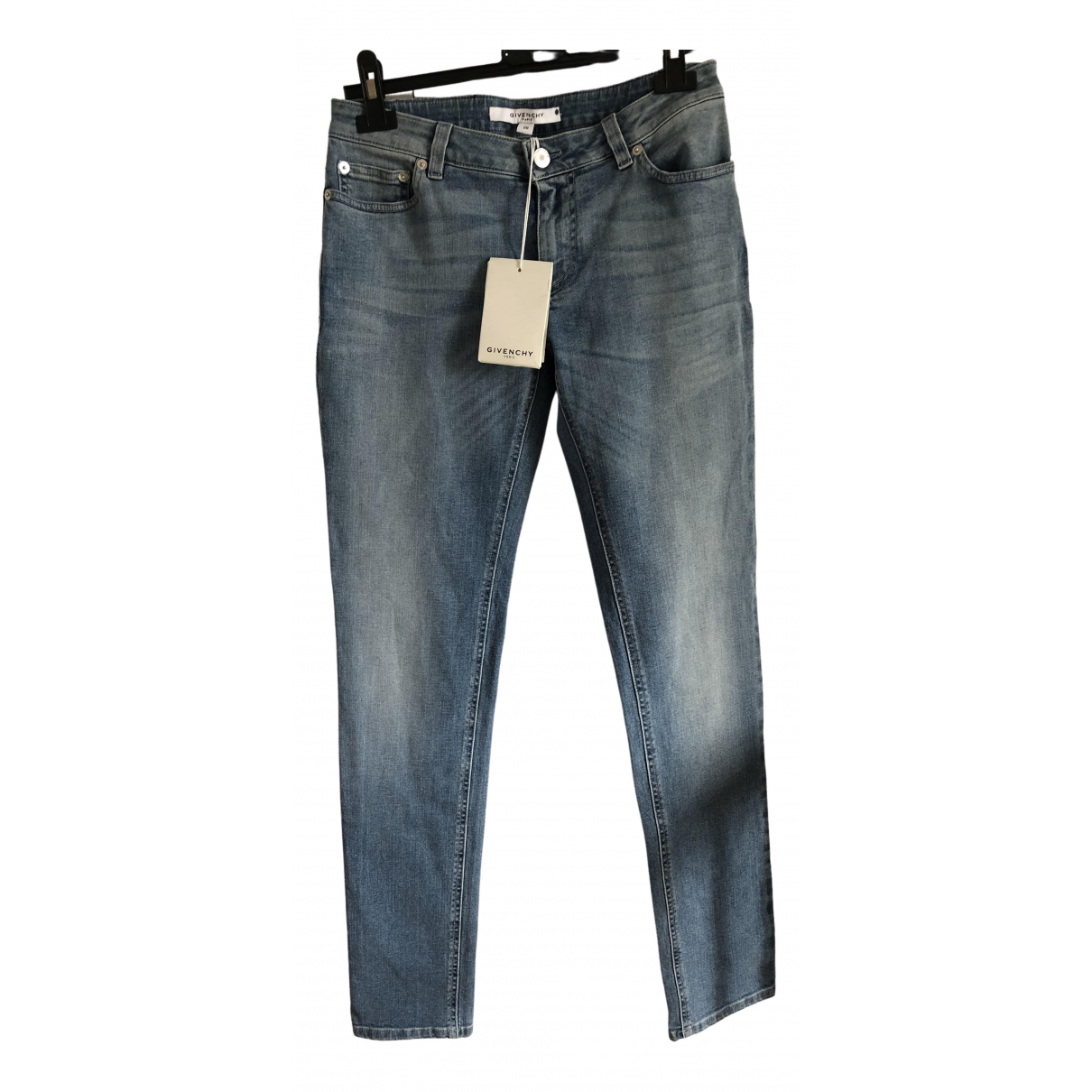 Givenchy \N Blue Cotton - elasthane Jeans for Women 34 FR