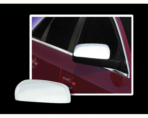 Quality Automotive Accessories Chrome Plated ABS Plastic 2-Piece Mirror Cover Set Ford Five Hundred 2005