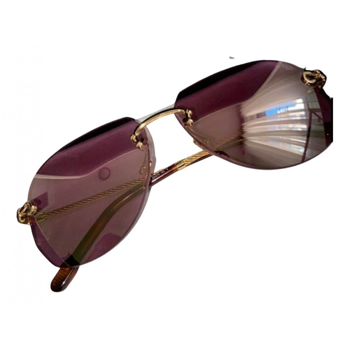 Fred \N Silver Metal Sunglasses for Men \N