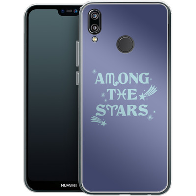 Huawei P20 Lite Silikon Handyhuelle - Among The Stars von caseable Designs