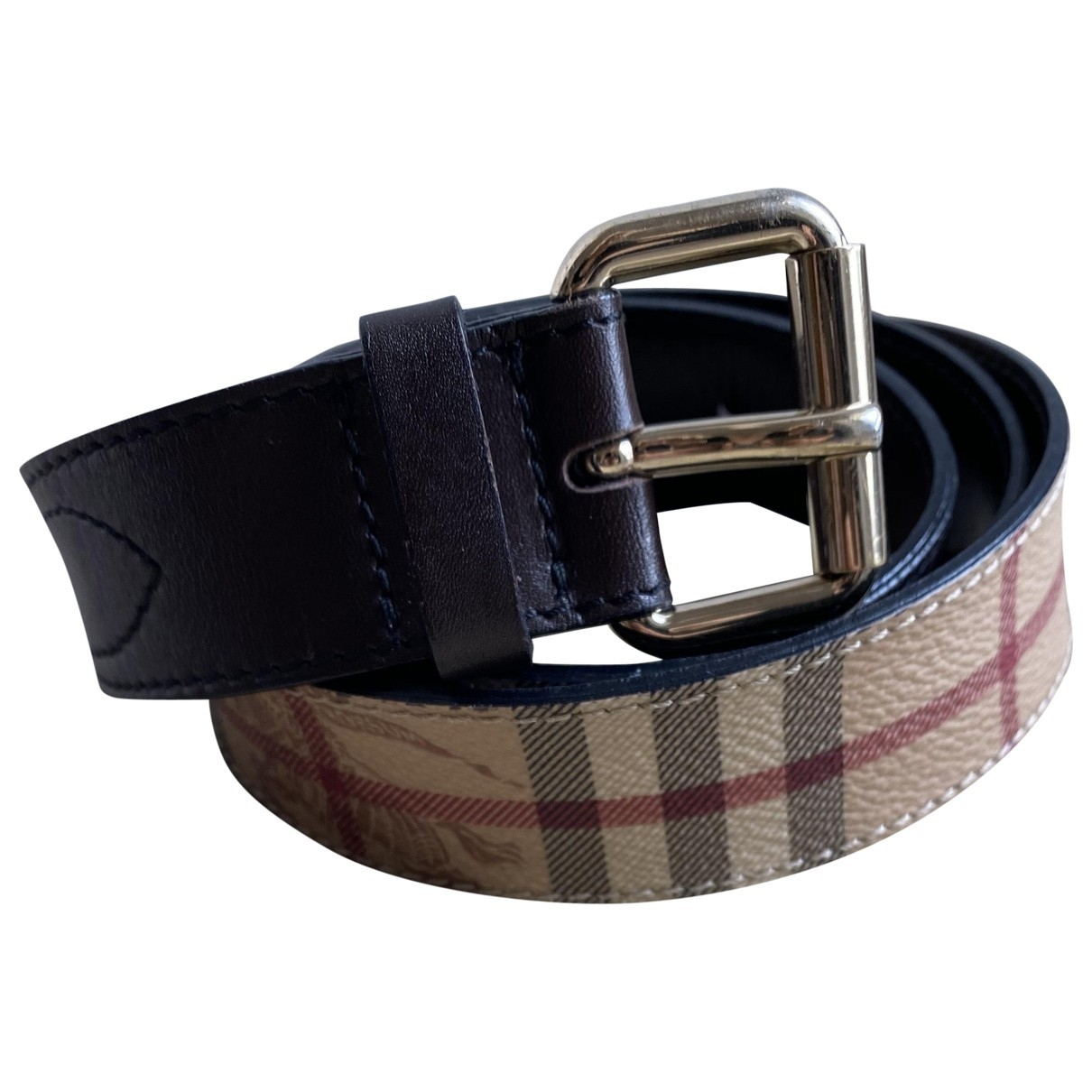 Burberry \N Multicolour Cloth belt for Women 90 cm