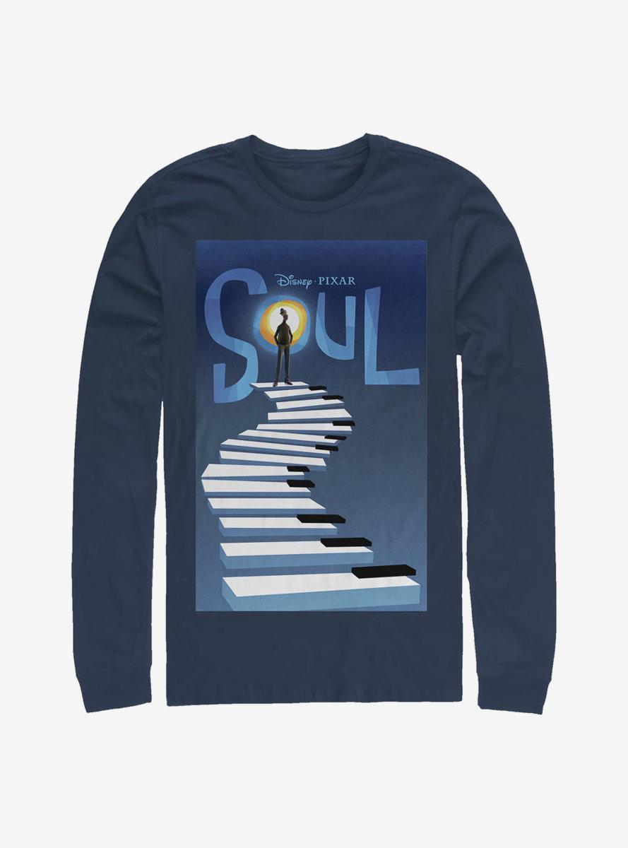 Disney Pixar Soul Poster Long-Sleeve T-Shirt