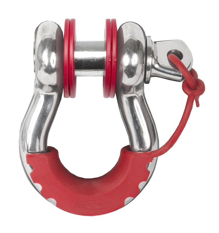 D Ring Isolator Washer Locker Kit 2 Locking Washers and 8 Non-Locking Washers Red Daystar KU70059RE