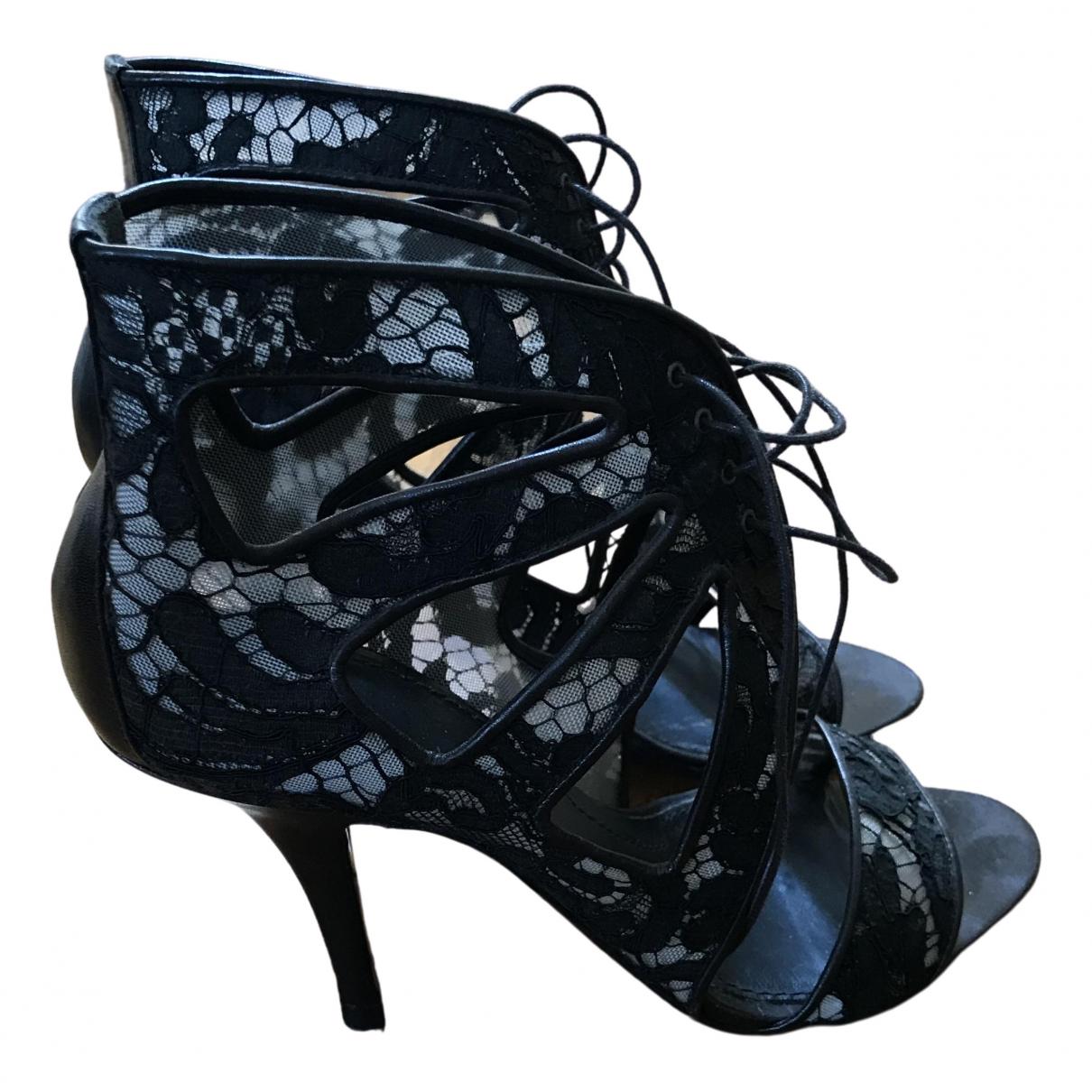 Givenchy - Escarpins   pour femme en cuir - noir