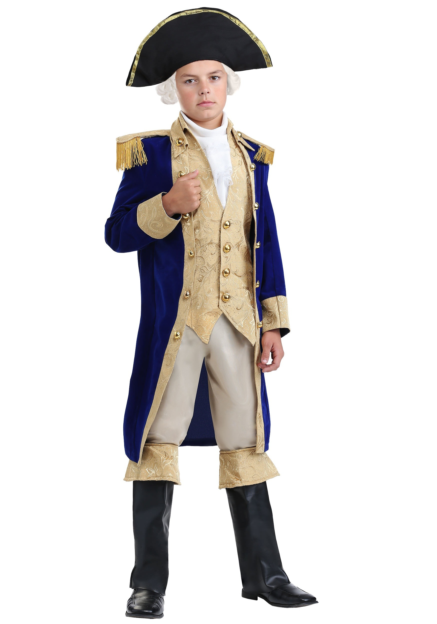 Boys George Washington Costume | Historical Figure Costume