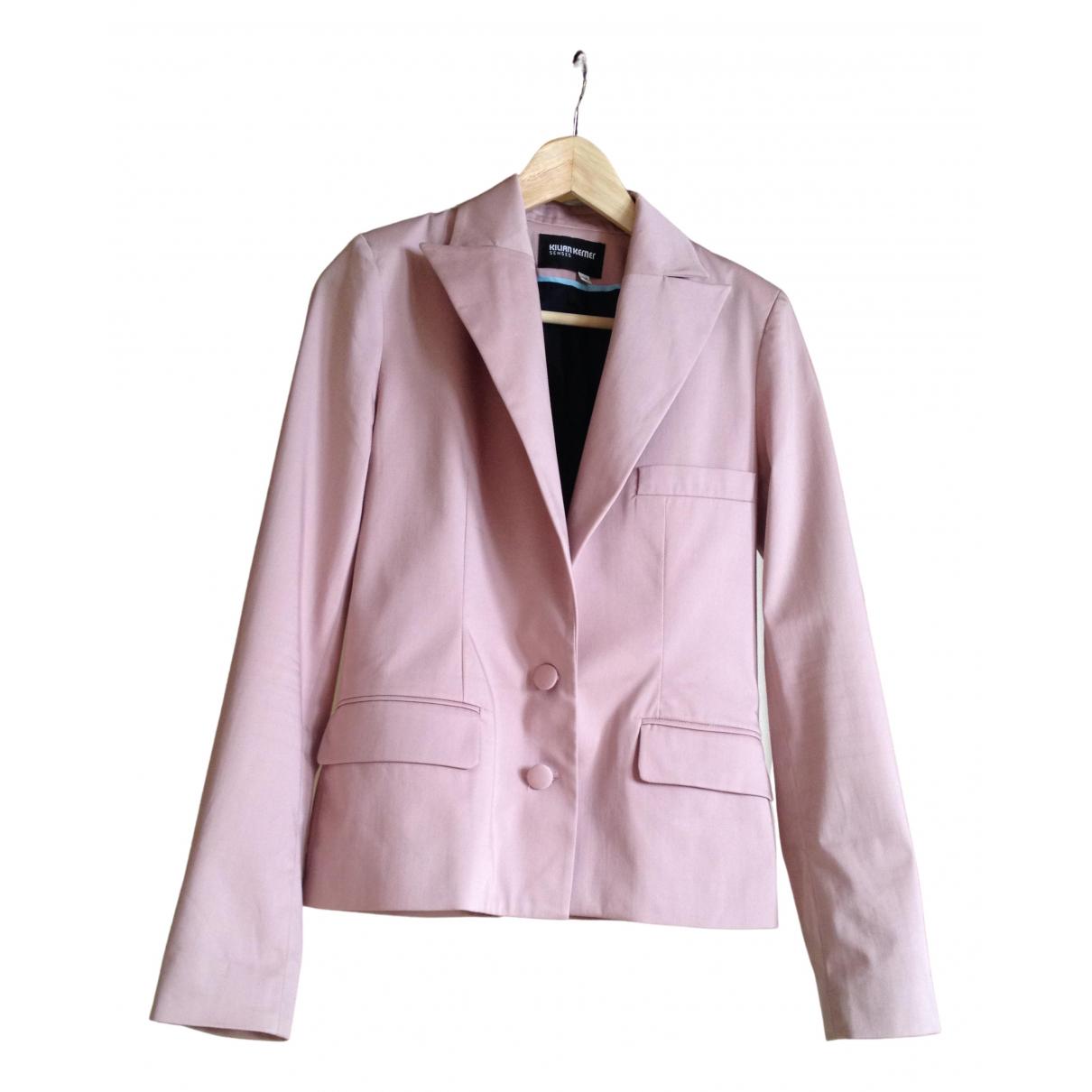 Kilian Kerner - Veste   pour femme en coton - rose