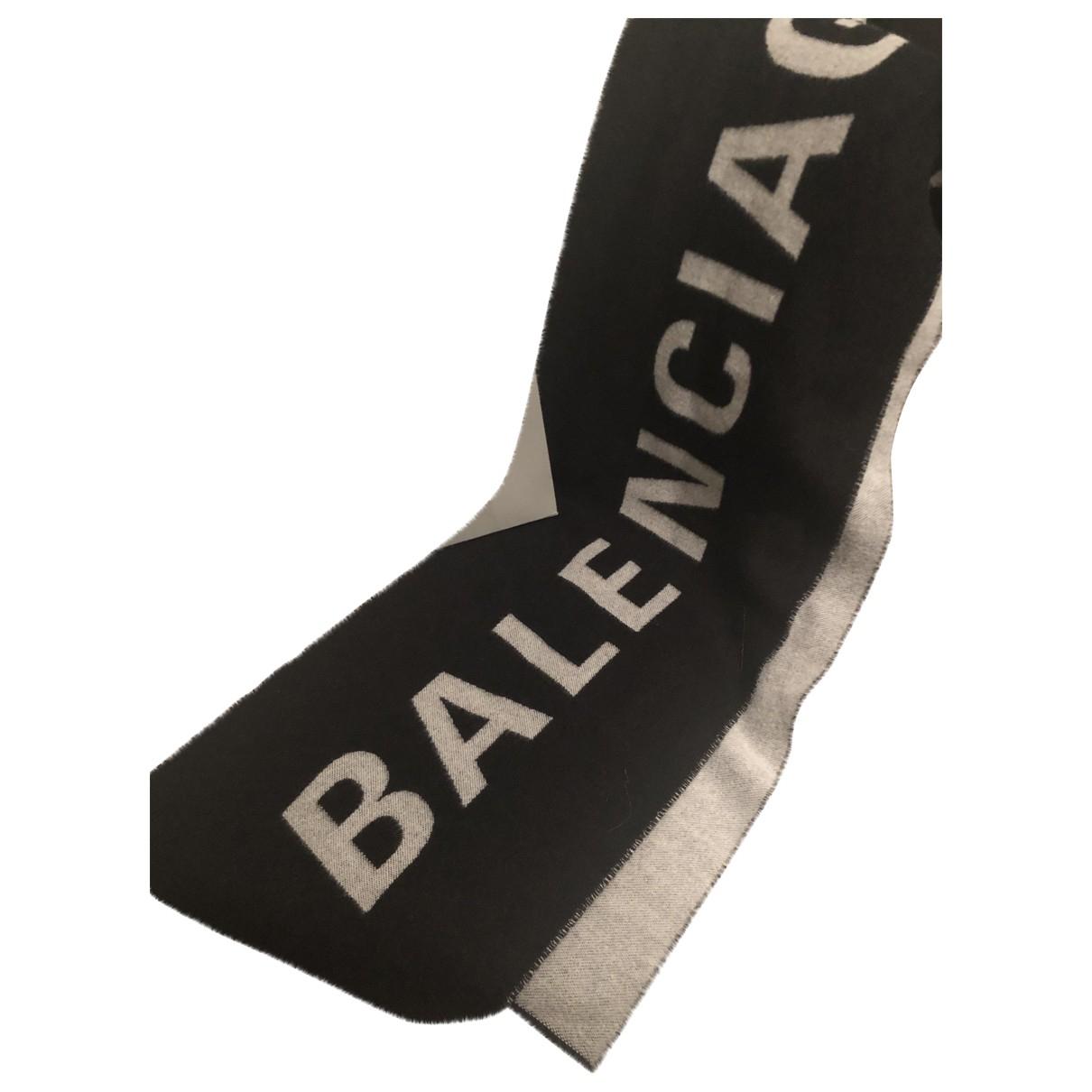 Balenciaga \N Schal in  Schwarz Kaschmir