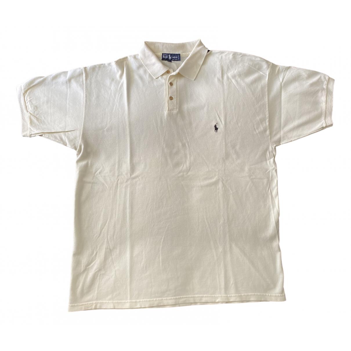 Polo Ralph Lauren - Polos Polo classique manches courtes pour homme en coton - ecru