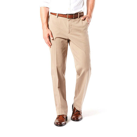 Dockers Big & Tall Classic Fit Workday Khaki Smart 360 Flex Pants D3, 54 30, Beige