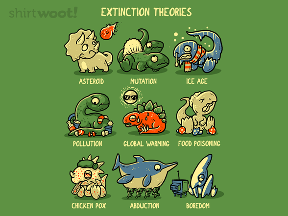 Extintion Theories T Shirt